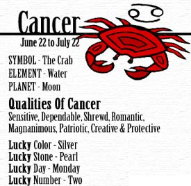 DAILY HOROSCOPE: CANCER# | Illuminati Gossip